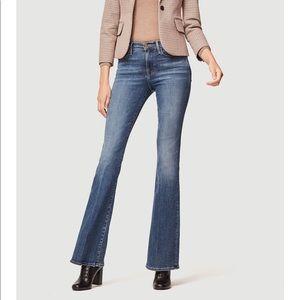 NEW • Frame • Le High Flare Jeans Cristallo Blue